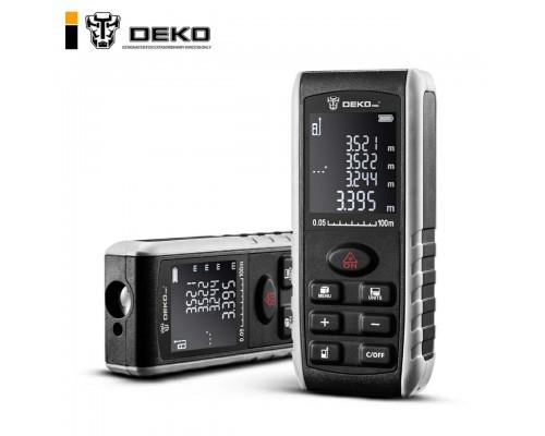 Лазерный дальномер DEKO S-100 с Уклономером