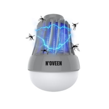 LED лампа от комаров портативная Noveen IKN823 LED IPХ4