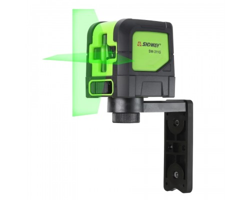 Лазерный уровень SNDWAY 311G зеленый луч