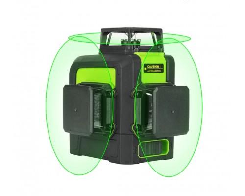Лазерный уровень SNDWAY 333G зеленый луч